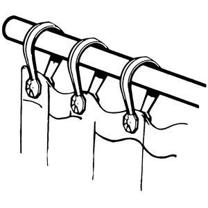 Button Curtain Rings