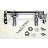 Hinge Pack SP5 - Bar Hinge Chrome