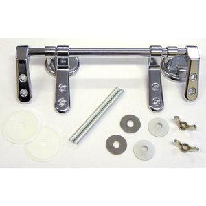 Hinge Pack SP5 - Bar Hinge Chrome