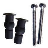 Top Fix Grommet Pack (black)